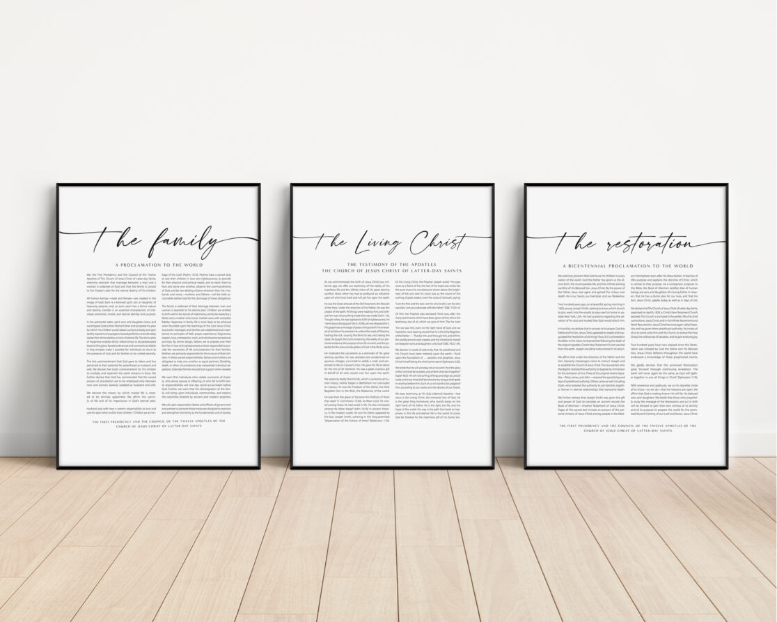 framed proclamation bundles ready for downloand