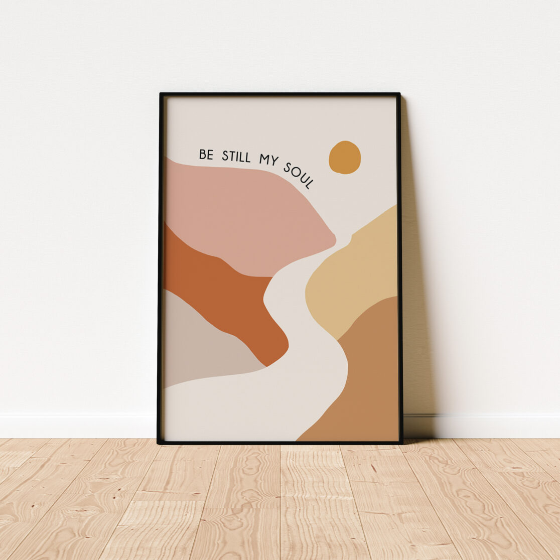 Be Still My Soul Poster on Ground