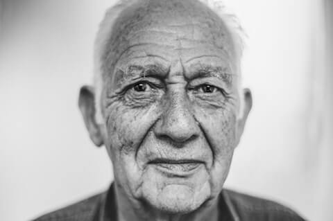 Image of a wise old man